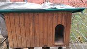 Isolierte Hundehütte mit windfang Zimmer