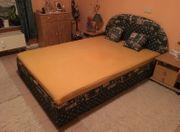 Bett mit Lattenrost Matratze Bettkasten