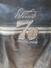 Motorradjacke Herren Leder Gr L