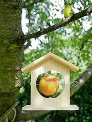 NEU OVP Vogel-Haus Futter-Haus Vogelfutter-Haus