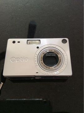 Foto und Zubehör - Pentax Optio S Digitalkamera