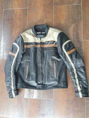 Motorrad Lederjacke Gr 50 mit