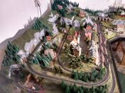 Minitrix Fleischmann Spur N Eisenbahnanlage