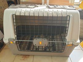 Bild 4 - HUNDEBOX Hundetransportbox Hundegitter Hundebett Hunderzwinger - Hohenems