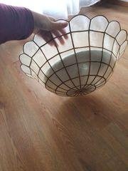 Decken Lampe Hartplastik Rustikal