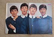 Beatles Poster Zeitungsausschnitte 14 tlg