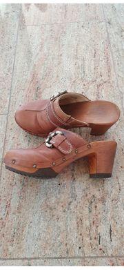 Holzclogs von Woody