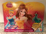 Großes Malbuch mit Stickern Disney