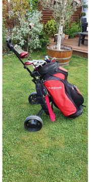 Golfausrüstung von B-Square incl Trolley