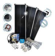 240W Solaranlage für Kastenwagen ab