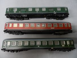 Modelleisenbahnen - TRIX Express H0 Konvolut DB - D-Zug-Wagen -