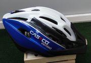 Fahrradhelm Farbe weiß blau Gr
