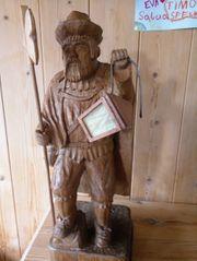 Nachtwächter aus Holz Handarbeit