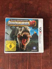 Nintendo 3DS Spiel Dinosaurier 3D