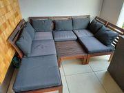 Garten Terrassengarnitur Lounge