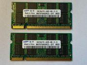 Samsung 2x 2GB 2Rx8 PC2-6400S-666-12-E3
