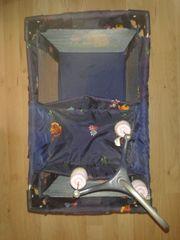 Puppenbett faltbar Puppen-Reisebett