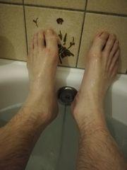 Lecken vorn anal Füße verwöhnen