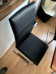 2x Freischwinger Stühle neu schwarz