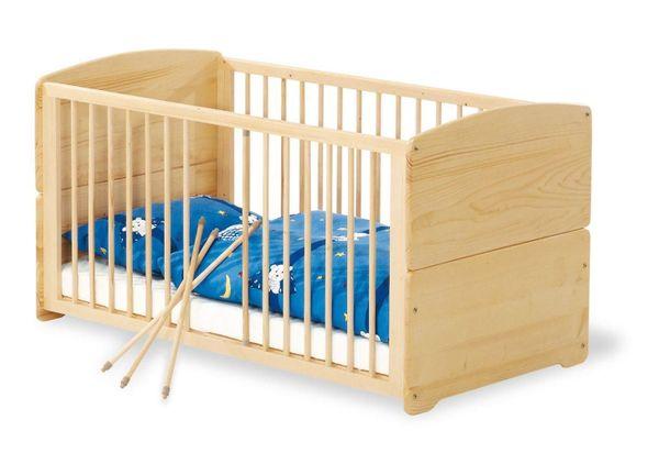 Kinderbett Pinolino aus Massivholz inkl