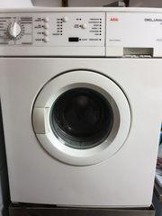 AEG Waschmaschine ohne Laugenpumpe zu