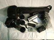 Filmkamera Ausstattung