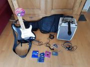 E-Gitarre mit Soundsystem MCP100