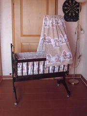 Schöne Babywiege aus Holz 15EUR