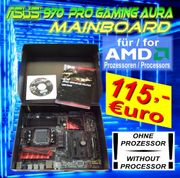 ASUS 970 PRO GAMING MAINBOARD - AMD