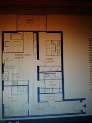 Erstbezug einer 3 Zimmer-Wohnung in