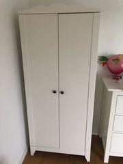 Ikea Kinder Kleiderschrank weiß