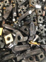 Kaum benutzte Wendeschneidplatten Hardmetall