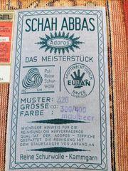 Schah AbbasTeppich Firma Adoros Sommerpreis