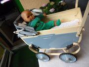 Alter Puppenwagen aus Frankreich