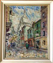 MeisterGemälde EINAR JOHANSEN 1893 Pariser