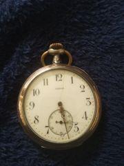 antik silber taschenuhr von Omega