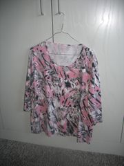 Damen-Shirt mit 3 4-Arm - Größe