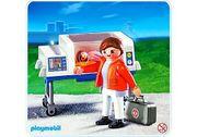 Playmobil 4225 - A Baby-Notärztin mit