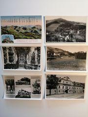 6 Stück alte Postkarten aus