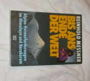 Buch Reinhold Messner Bis ans