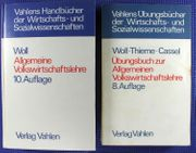 Allgemeine Volkswirtschaftslehre Übungsbuch Woll