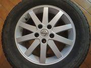 2 Stück Nissan Alufelgen Rad