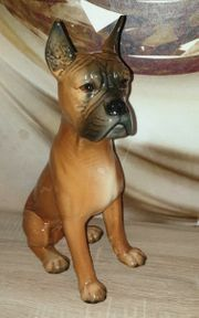 Goebel Porzellan Hund Boxerhund