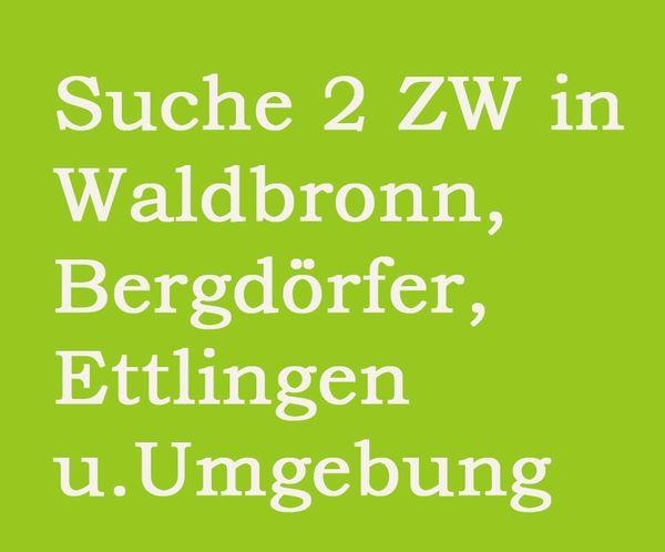 Suche 2 ZW in Waldbronn