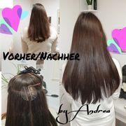 Modelle für Haarverlängerung Verdichtung