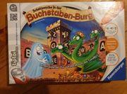 Buchstabenburg Tip Toi Spiel