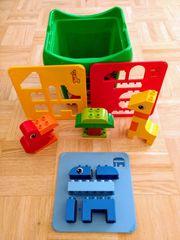 LEGO Duplo 6784 Formensortiereimer Tierfiguren