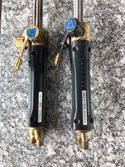 2 Schneidbrenner Messer Griesheim Starcut
