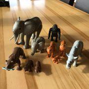 Playmobil-Set Wildtiere gebraucht