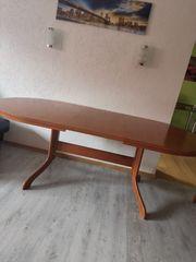 Esszimmer Tisch mit 6 Stühle